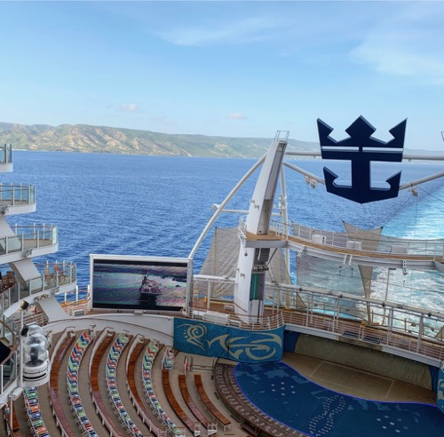 Outdoor Theater on Allure of the Seas