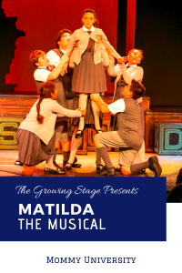 The Growing Stage Matilda the Musical
