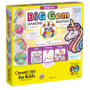 Creativity for Kids Big Gem Diamond Painting, Magical