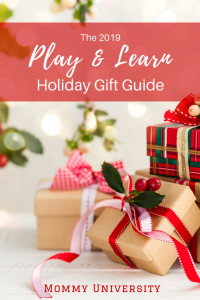 2019 Play and Learn Holiday Gift Guide