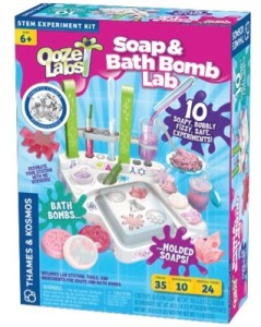 Soap and Bath Bomb Lab