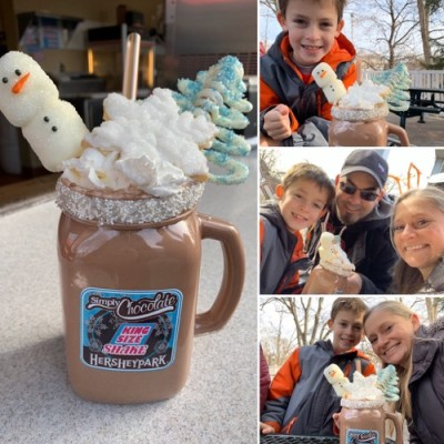 Holiday King Shake at Hersheypark
