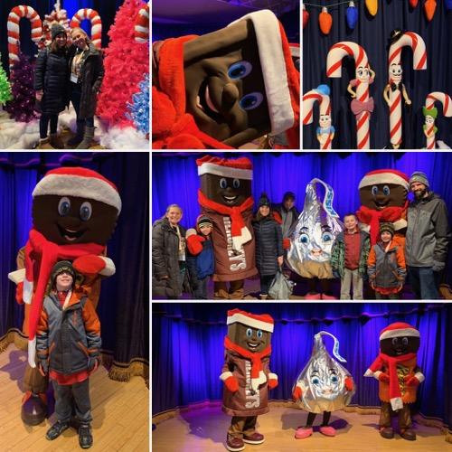 Hersheypark Christmas Candylane Character Spot