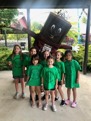 Girl Scouts at Hersheypark