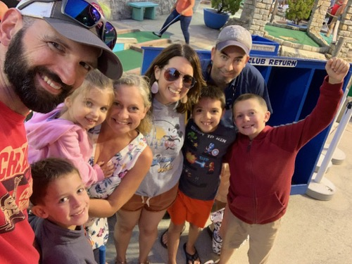 OCMD Mini golf with friends