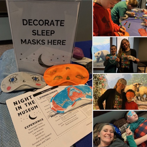 Crafts at Night in the Museum