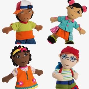 Miniland Fastening Dolls