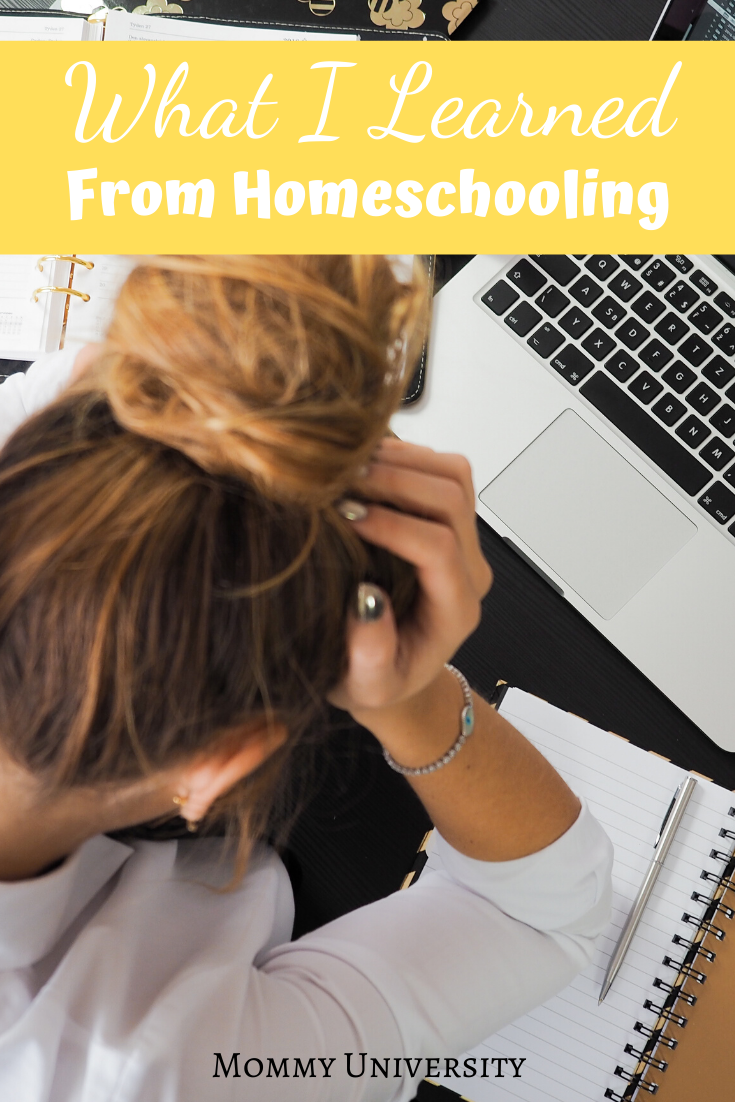 What I Learned from Homeschooling