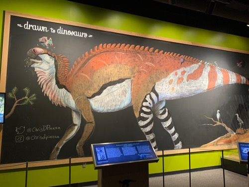 Academy of Natural Sciences Dino Drawing