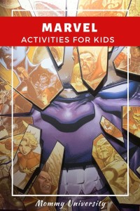 Marvel Activities for Kids
