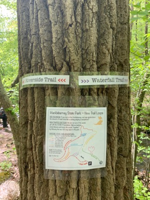 Hacklebarney State Park Trail Map