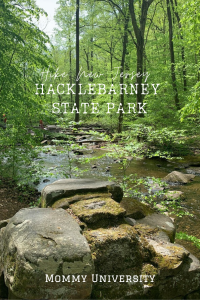 Hiking Hacklebarney State Park