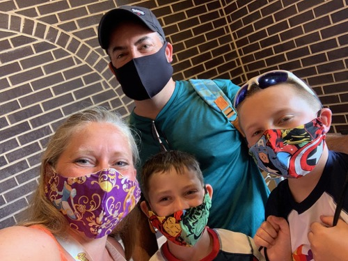 Masks at Hersheypark