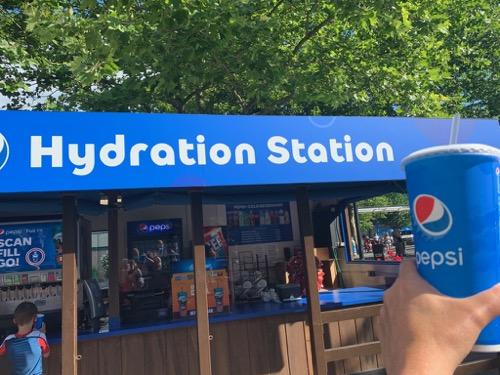 Hydration Station at Hersheypark