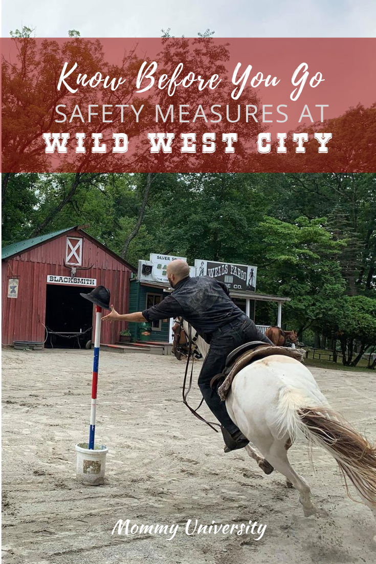 Safety Measures at Wild West City