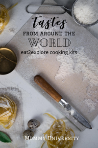 Tastes from Around the World eat2explore subscription