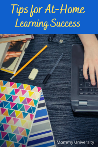 Tips for At-Home Learning Success