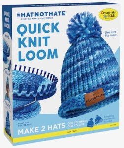 Creativity for Kids, Hat Not Hate Quick Knit Loom