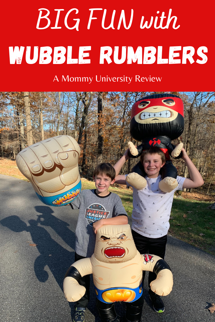 Big Fun with Wubble Rumblers