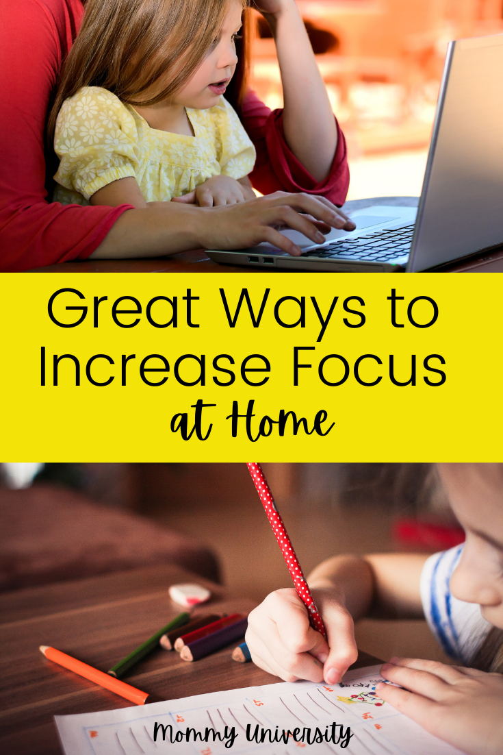 Great Ways to Increase Focus at Home