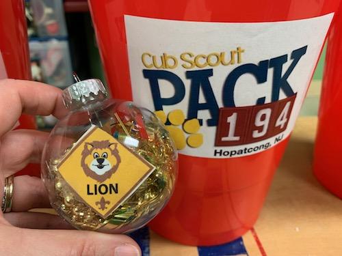 Cub Scout DIY Ornament