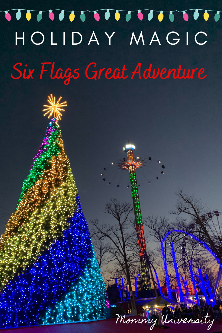 Holiday Magic at Six Flags Great Adventure