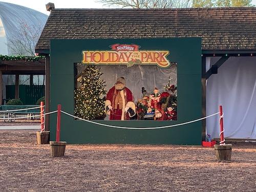 Santa at Holiday in the Park