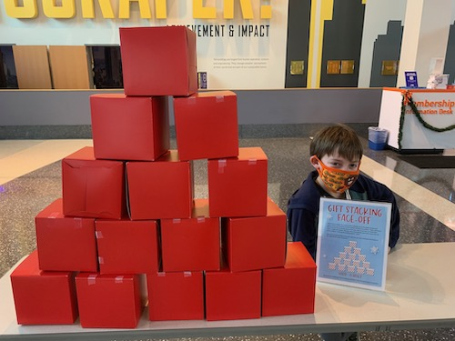 Stack the Presents at LSC