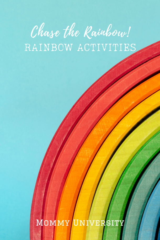 Chase the Rainbow : Rainbow Learning Activities for Kids