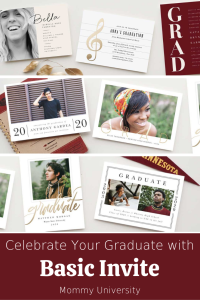 Celebrate Your Graduate with Basic Invite