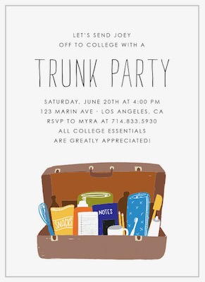 Basic Invite Trunk Party