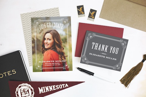 Basic Invite Thank you cards