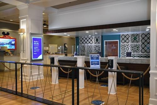 Wyndham Garden LBV Lobby Check In