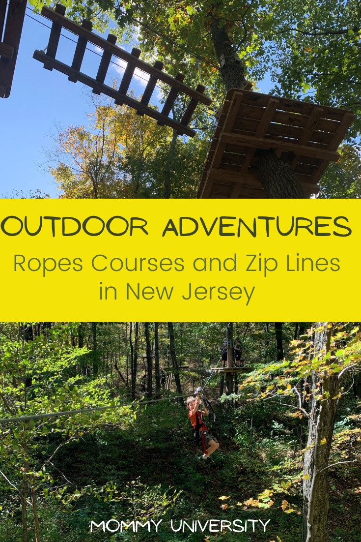 Outdoor Adventures_ Ropes Courses and Zip Lines in NJ