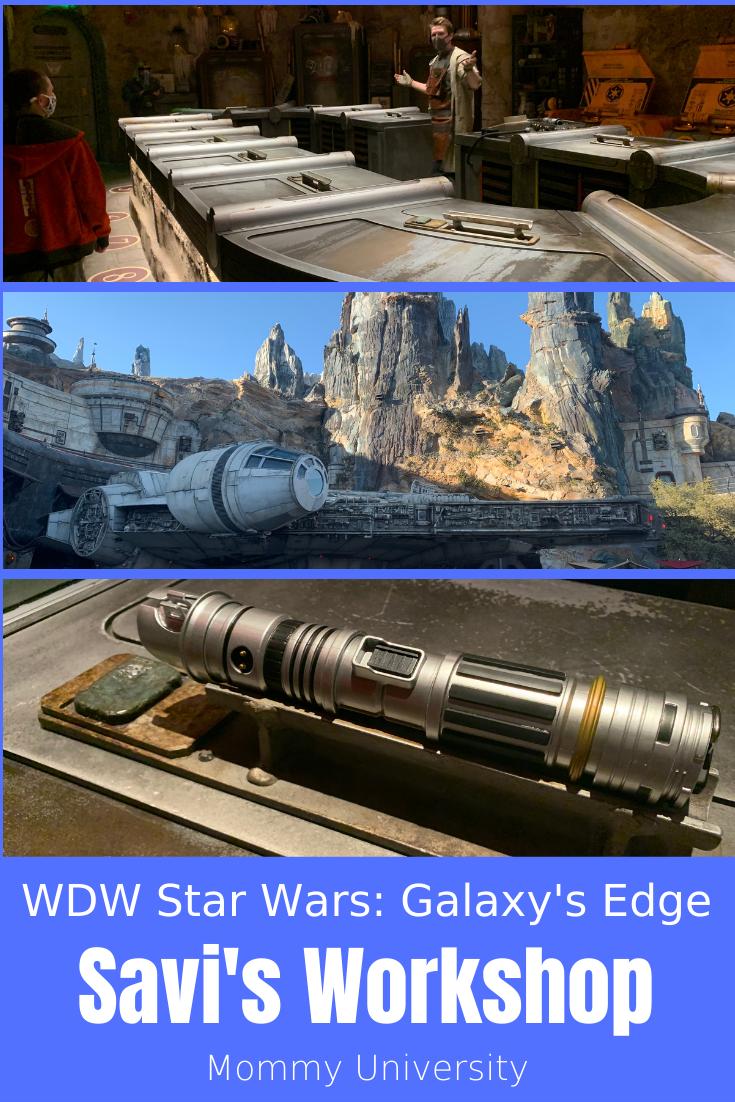 WDW Star Wars_ Galaxy's Edge Savi's Workshop
