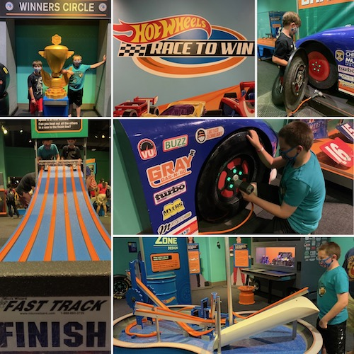 Hot Wheels Exhibit at Liberty Science Center