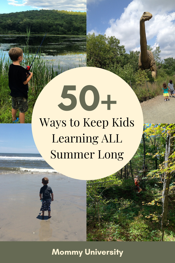 Fun Ways to Keep Kids Learning All Summer Long