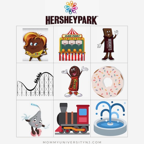 Hersheypark Picture Scavenger Hunt
