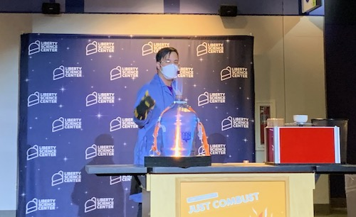 Science Show at Liberty Science Center
