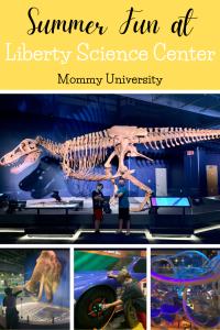 Summer Fun at Liberty Science Center