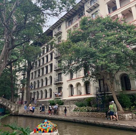 Hotel on San Antonio River Walk