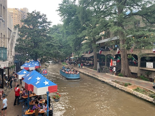 Boat Ride on The River Walk