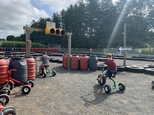 Trike Rides at Stony Hill Farms